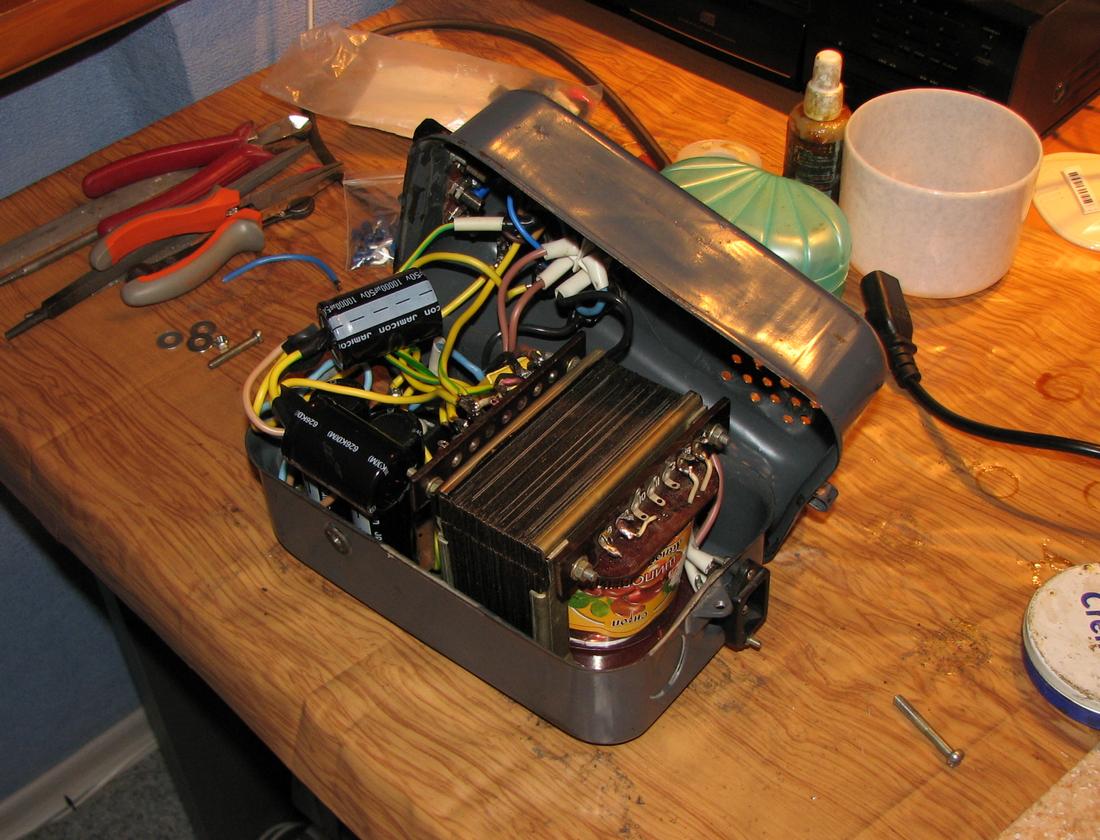 Как сделать усилитель для сабвуфера из блока питания от компьютера