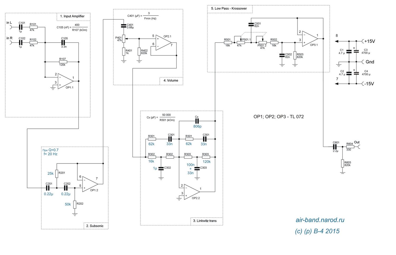 Схемы для сабвуфера простые схемы усилителей для сабвуфера